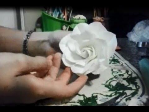 Pote Rosas Brancas