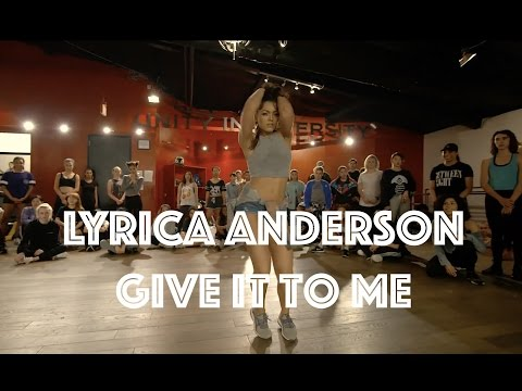 Lyrica Anderson - Give It To Me | Hamilton Evans Choreography (видео)