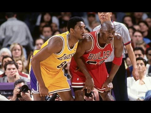 Jordan - As Kobe Bryant is on the verge of passing Michael Jordan for third all-time on the NBA scoring list, take a look back at highlights of their head to head mat...