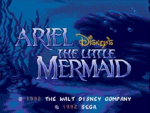 Ariel : La Petite Sir�ne Megadrive