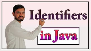 Identifiers in Java by Deepak