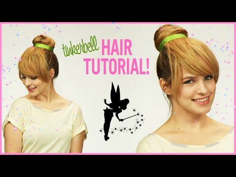 Hair - Need an costume idea for Halloween? How about Tinker Bell? More Hair Tutorials (easy formal updo) - http://bit.ly/1xVZQt3 Make A Splash VMA Makeover - http://bit.ly/1wgnq3G Pick a Halloween...