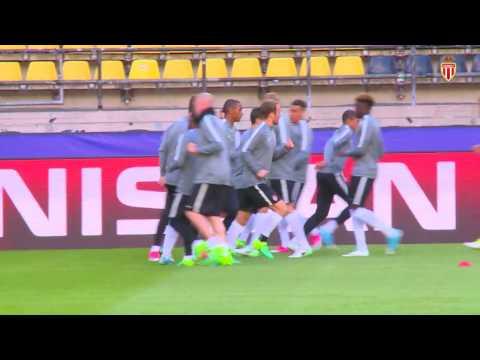 Champions League : dernier entraînement avant Dortmund - AS MONACO