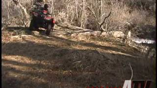 9. ATV Television Test - 2008 Suzuki King Quad 750