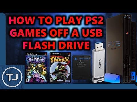 How To Play PS2 Games Off A USB Flash Drive! (OLP Tutorial) 2018!