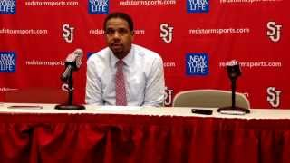 Ed Cooley after Defeating St. John's