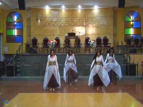 alabanzas y danza - Alabanzas al Rey - Marcela Gandara Te invitamos a visitar www.venacristo.cl para ver esta y otras danzas...