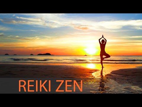 Reiki Zen Meditation Music: 8 Hour Healing Music, Positive Motivating Energy ☯114 (видео)