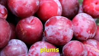 FRUIT Vocabulary, Videos for beginners