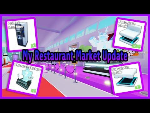 Roblox My Restaurant Market Update
