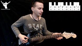 SGL : Music Theory 3 - Leer de noten vinden en berekenen op de gitaarhals (Gitaarles MT-003)