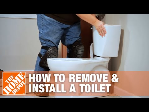 How to Remove and Install a Toilet | The Home Depot