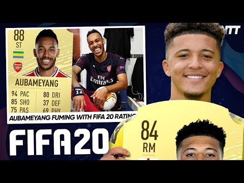 Video: FOOTBALLERS REACT TO THEIR FIFA 20 CARDS! | #WNTT