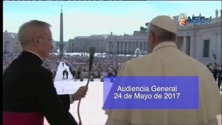 Audiencia General 24-05-17