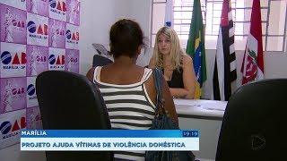 Marília: projeto criado entre OAB e Polícia Civil acolhe mulheres vítimas de violência doméstica