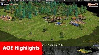 AOE Highlights - Pha củ hành game thủ Jerry hài hước của Chim Sẻ Đi Nắng và Hồng Anh.