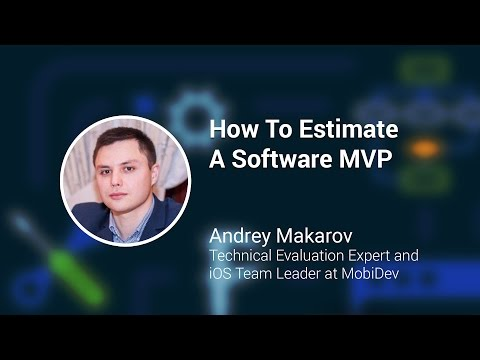 Software Estimates: Minimum Viable Product