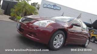 Autoline Preowned 2010 Nissan Altima 2.5 For Sale Used Walk Around Review Test Drive Jacksonville