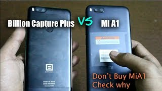 Video Flipkart BillIon Capture Plus+ VS Xiaomi Mi A1 Comparison (A1 गलती से भी मत लेना) -हिंदी MP3, 3GP, MP4, WEBM, AVI, FLV November 2017