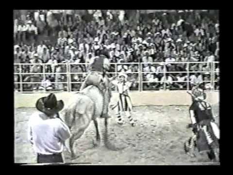 Cassius Clay Ferreira no Rodeio da Padroeira em Paranaíba