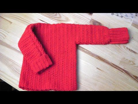 Adventskalender Türchen 24: Pullover häkeln lernen für Linkshänder