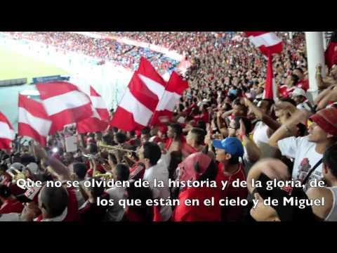 Que no se olviden de la historia y de la gloria - Baron Rojo Sur - América de Cáli