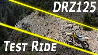 10. Suzuki DRZ125 Test Ride and review
