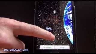 Space Earth 3d Live Wallpapers YouTube video