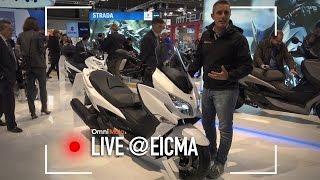 Suzuki Burgman 400 a EICMA 2016