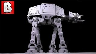 Giant Lego AT-AT Time Lapse Build !!!!!