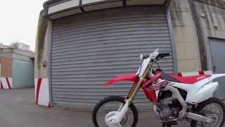 8. Honda Crf r 250 4t 2015 Start Up with change maps - GoPro Hero 4