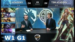 Video Liquid Academy vs TSM Academy | Week 1 of S8 NA Academy League Spring 2018 | TLA vs TSMA MP3, 3GP, MP4, WEBM, AVI, FLV Juni 2018