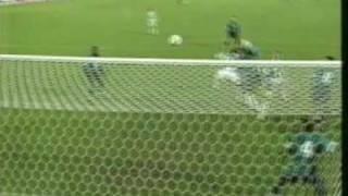 Carsten Janckers Tor zum 4:0 gegen Sporting