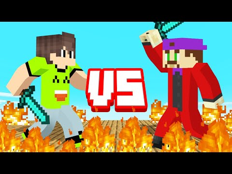 FIGHTING My BEST FRIEND In MINECRAFT!