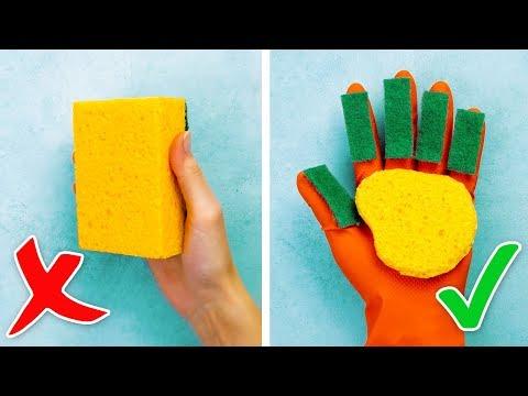 30 BRILLIANT CLEANING HACKS - Thời lượng: 11 phút.