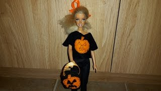 How To Make A Dolls Trick Or Treat Bag
