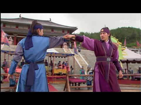 [고구려 사극판타지] 주몽 Jumong 검술 대결, 주몽의 실력에 놀란 사람들