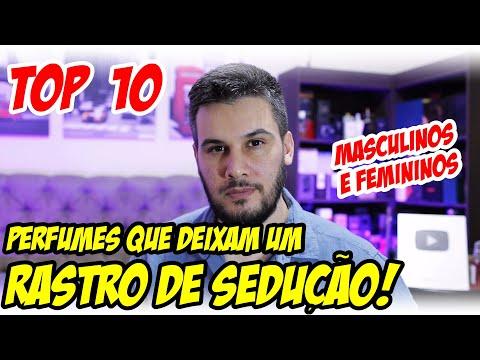 10 PERFUMES QUE DEIXAM UM RASTRO DE SEDUÇÃO! 5 Masculinos e 5 Femininos, co… видео
