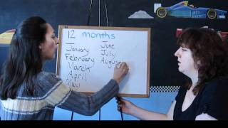 Lesson 36 - Months And Birthdays - Learn English With Jennifer