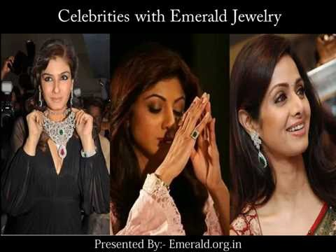 Celebrities with Emerald Jewelry