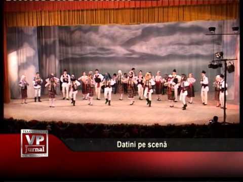 Datini pe scenă