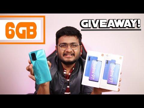 Redmi 9T 6GB Unboxing | Giveaway Scene Hai Boys!