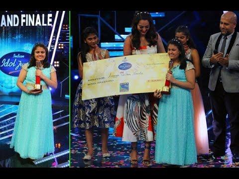 Ananya Nanda Becomes The WINNER Of Indian Idol Jun
