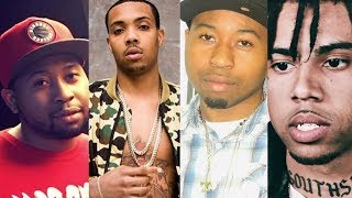 """G Herbo says DJ Akademiks """"Gon GET F*CKED UP"""" Messing with Vic Mensa"""