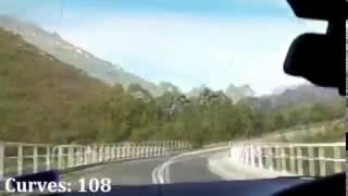 Maydena Australia  city photos gallery : Gordon Dam to Maydena drive @ 1300km/hr, Tasmania Australia (83km)