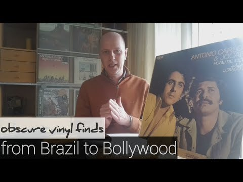 Obscure 70's Vinyl Finds - FROM BRAZIL TO BOLLYWOOD - Ep. #22 - Vinyl Community