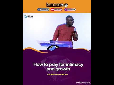 Praying For Intimacy and Growth