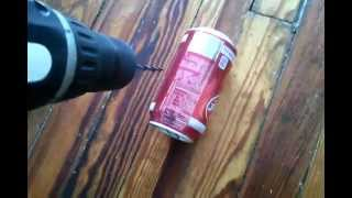 How To Crush A Can