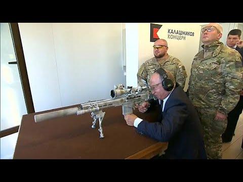 Ο Πούτιν σε ρόλο ελεύθερου σκοπευτή (βίντεο)