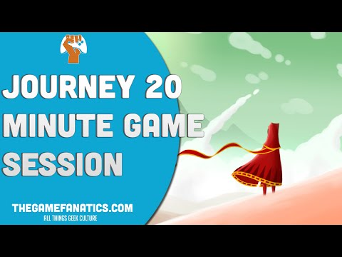 journey - Thatgamecompany's game journey in a 20 minute game session. Audio does become off during some parts.